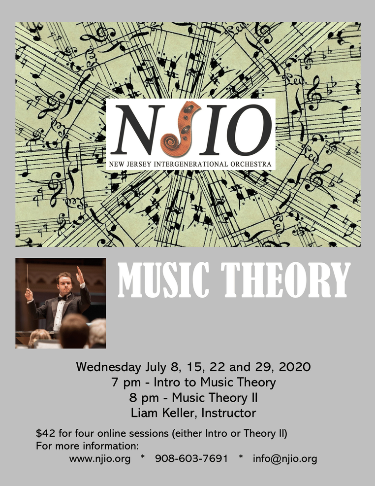 Music Theory Summer 2020 Flyer