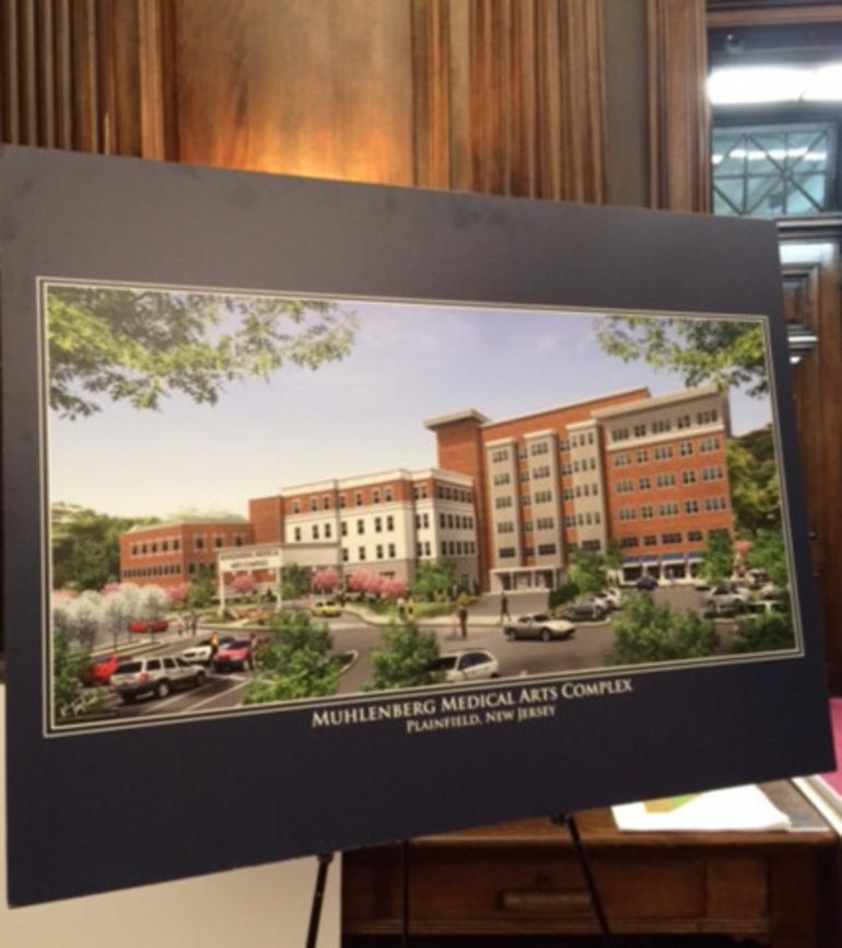 Muhlenberg_Medical_Arts_Center plan in 2017.png