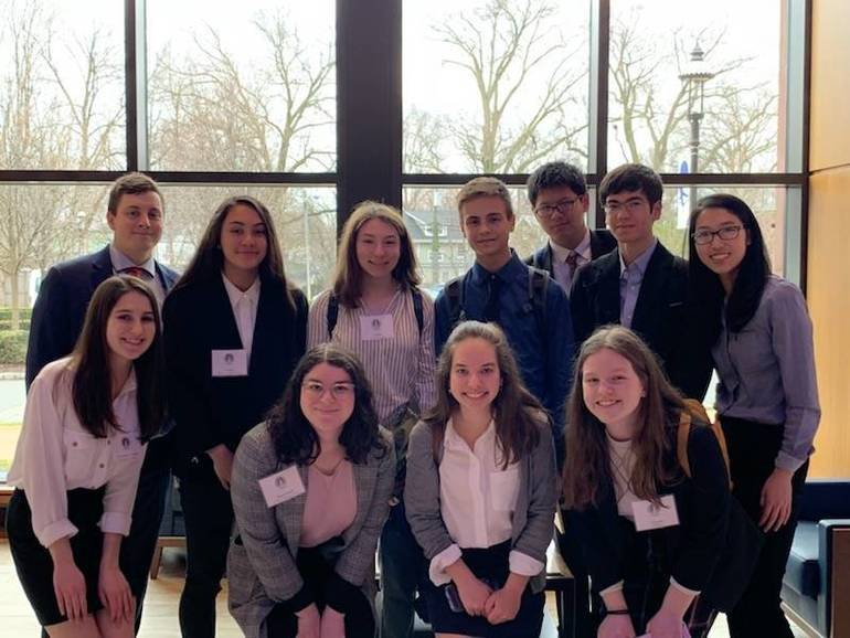 GL's MUN Team Competes at Seton Hall Model United Nations Conference