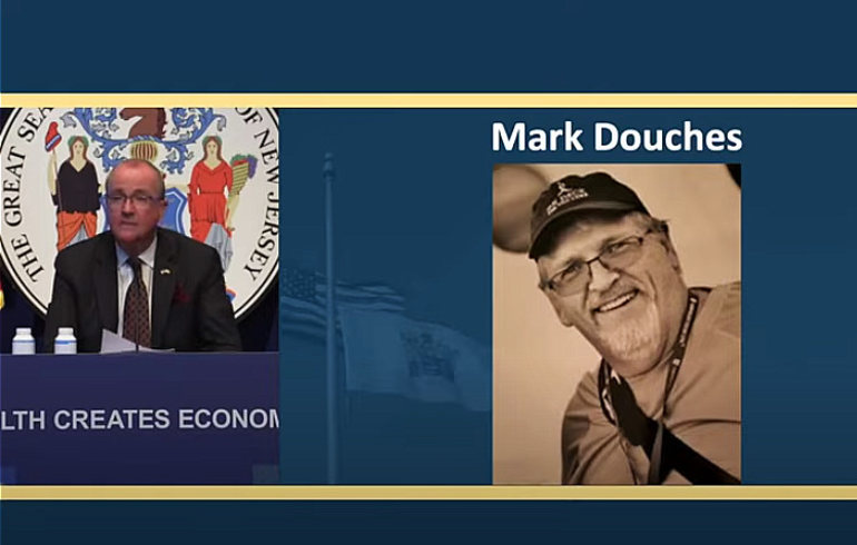 Murphy Remembers Scotch Plains Resident Mark Douches During COVID-19 Briefing Friday