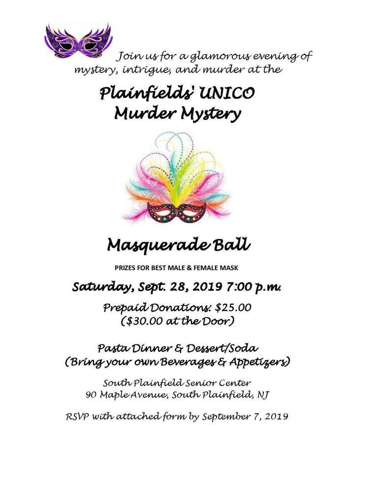Murder Mystery Invite