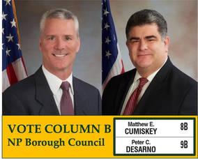 DeSarno and Cumiskey: They just don't talk the talk; they walk the walk.