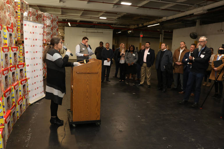 Huggies And ShopRite Donate 250k Diapers to Community FoodBank of New Jersey In National Initiative