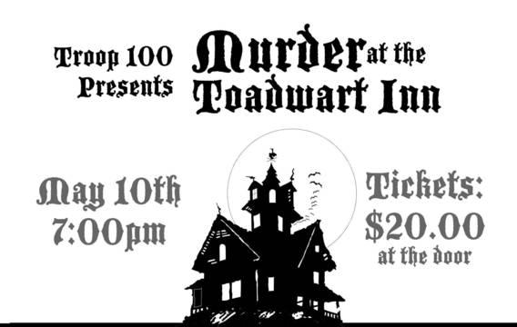Murder At The Toadwart Inn