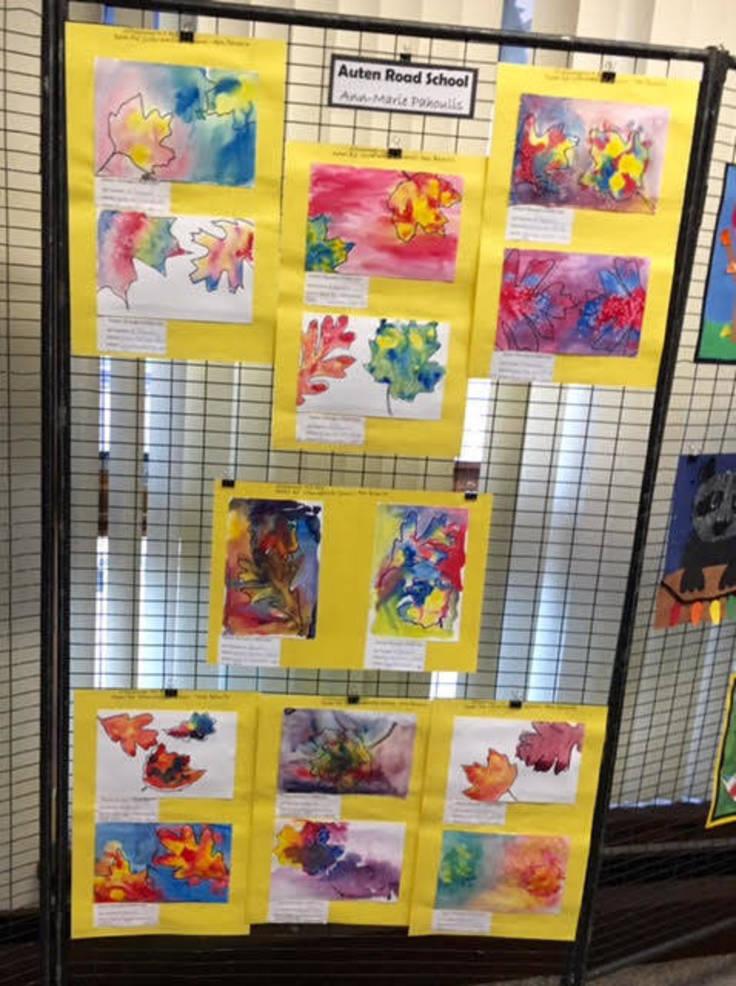 Hillsborough student art with environmental theme