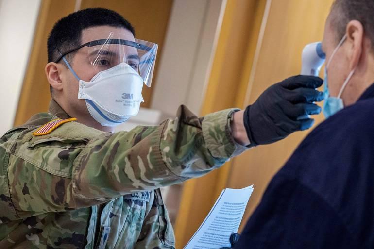 NJ National Guard Assisting Operations at BurlCo Vaccine Mega-Site