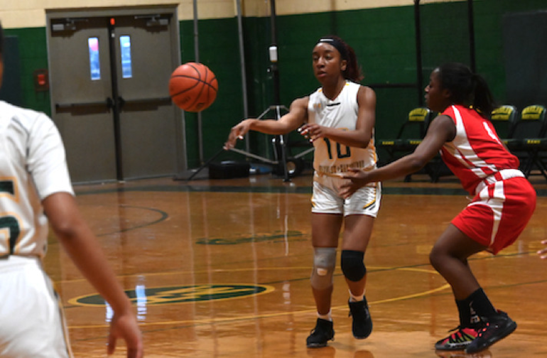 Wardlaw+Hartridge basketball player Nadia Valcourt of South Plainfield has been named to this year's Greater Middlesex County Student-Athlete Advisory Committee basketball teams.