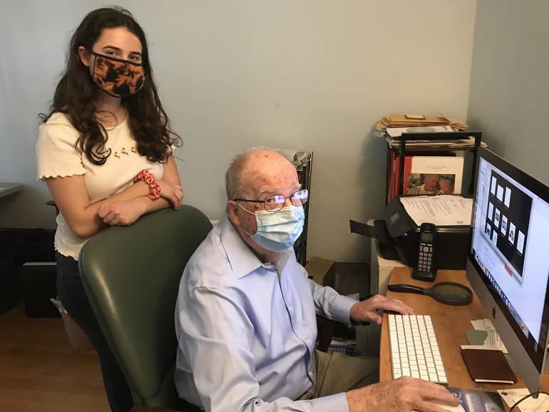 Three Generations of Livingston Volunteers Help Hundreds Register for Vaccine