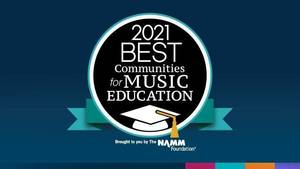Nutley Public Schools, Best Community for Music Education, National Association of Music Merchants
