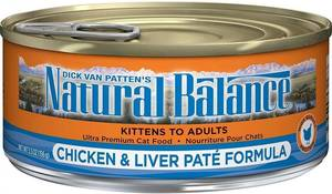 Carousel image 489a96dddb3429c726b3 natural balance chicken and liver pate front label