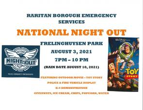 Raritan Borough Police Holding National Night Out Event