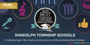 Randolph Recognized as Best Community for Music Education