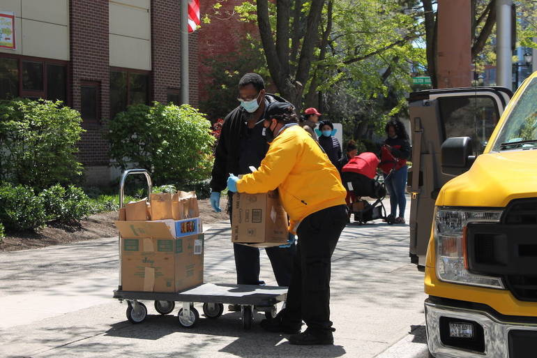 Newark Downtown District Launches 'From the Heart' Program to Help Feed City's Hungry