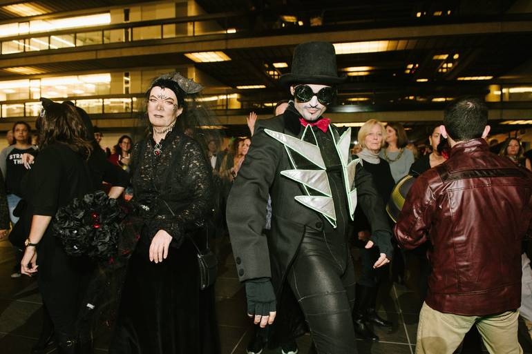 Witches and Wizards of Bell Works Give Back at Annual Halloween Party