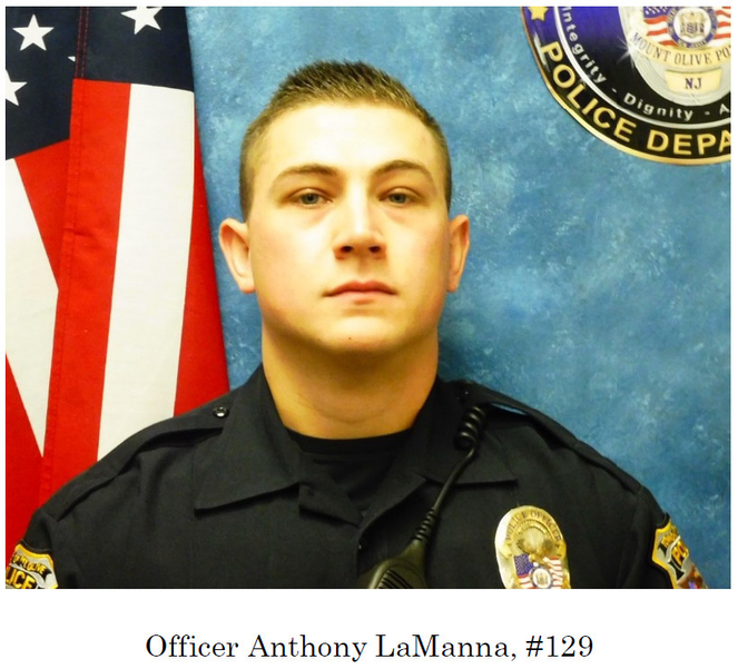 Roxbury's LaManna Becomes Mount Olive Police Officer