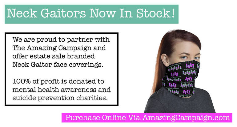 Remember When Antiques and Estate Sales, LLC Announces Face Covering Partnership With The Amazing Campaign