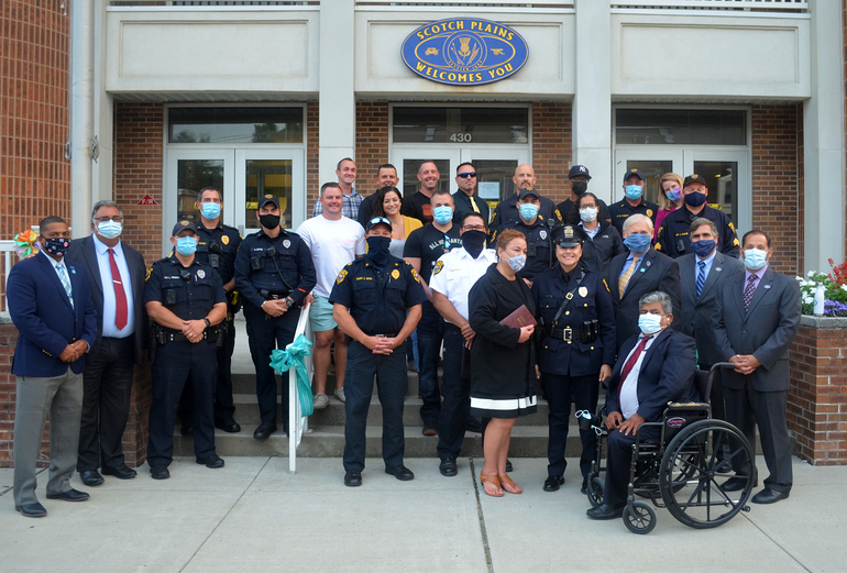 Scotch Plains police department welcomes its newest officer, Valerie Aguirre