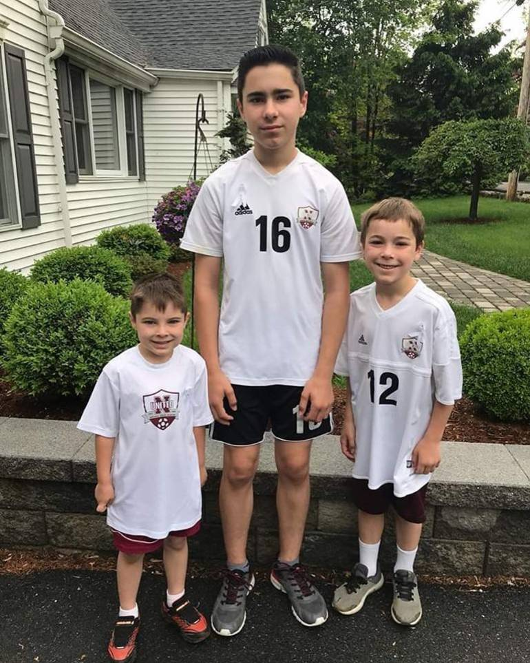 Newton United Soccer players and Andover Regional District.jpg