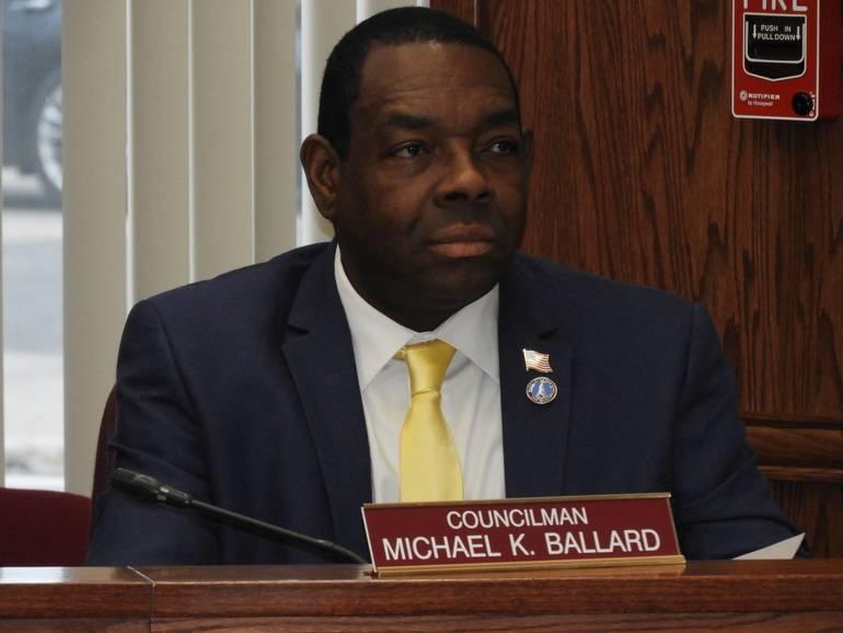 Newly elected Council President, Michael Ballard.jpg