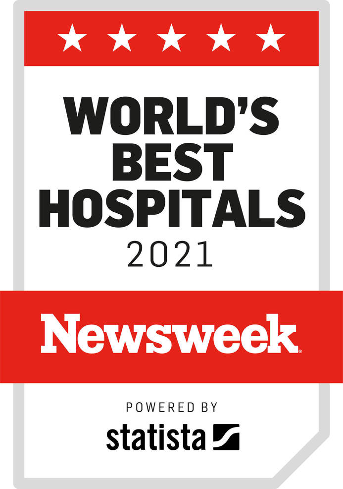 Atlantic Health System's Morristown and Overlook Medical Centers Named Among World's Best Hospitals and Best Hospitals for Infection Prevention by Newsweek
