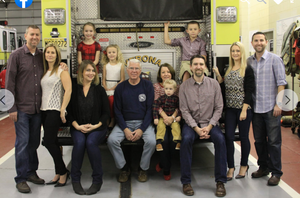 Verona Firefighter Rick Neale Draws Recognition for 40 Years of Service