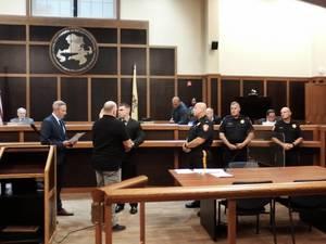 Bridgewater Swears in New Police Officer