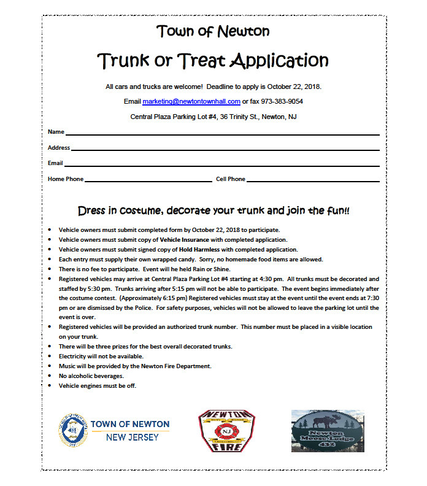 Top story 3e6da18cb3a764a960f7 newton trunk or treat application