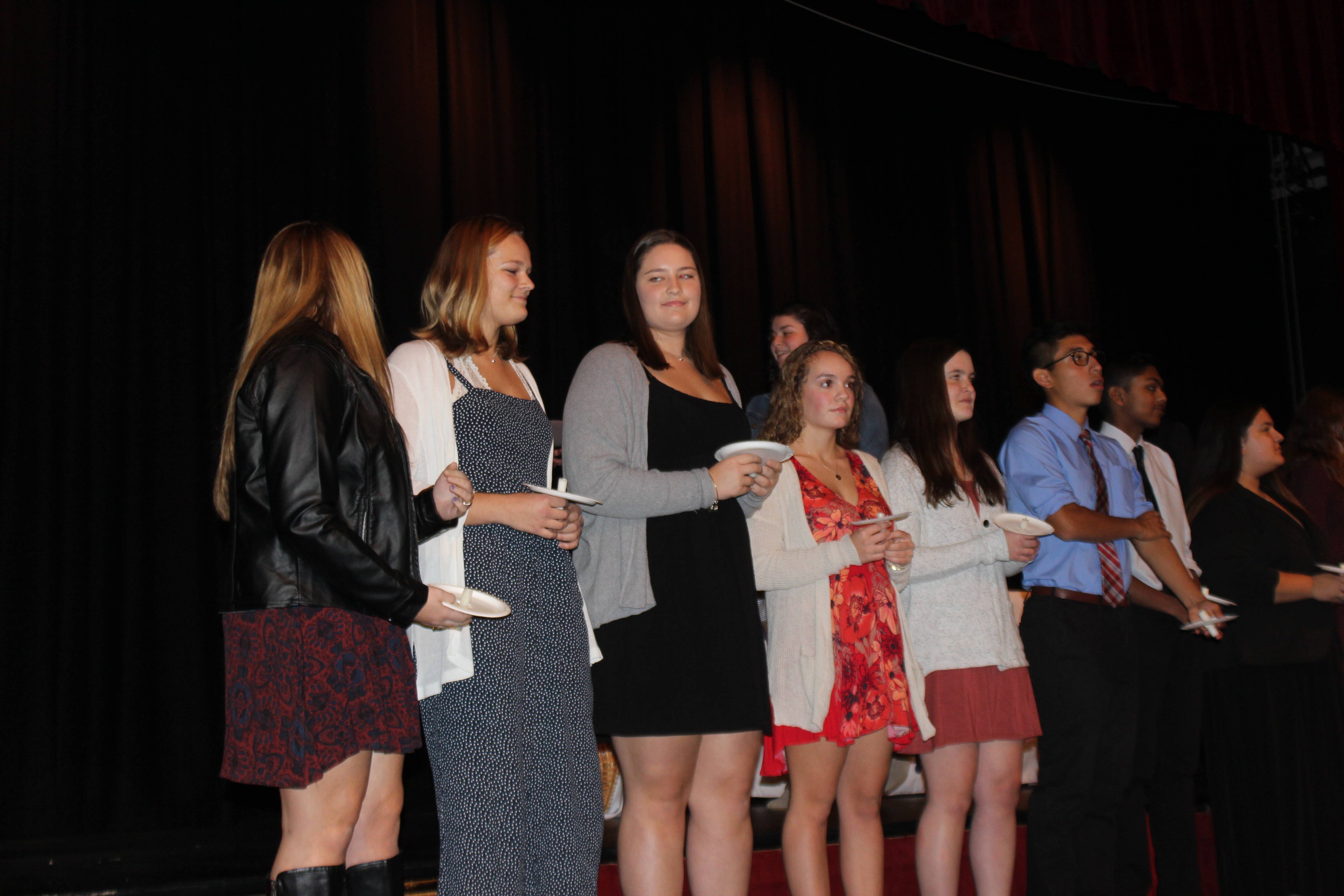 Gov. Livingston National Honor Society Inducts New Members