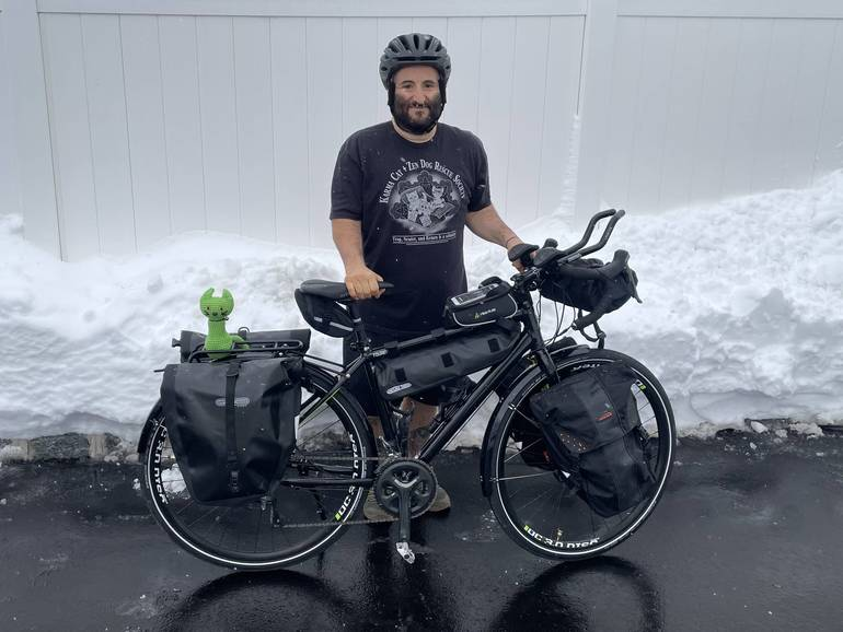 Milltown Man Embarking On Cross-Country Bike Ride To Celebrate 100-Pound Weight Loss