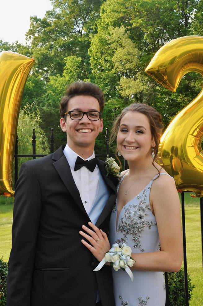 Nicholas Cook and Jenny Brady