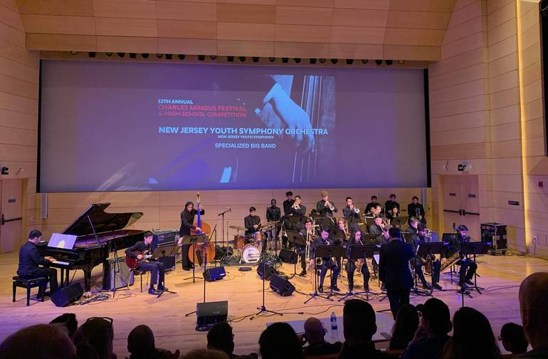 New Jersey Youth Symphony Jazz Program Receives Top Prizes at the 12th Annual Charles Mingus Festival & High School Competition
