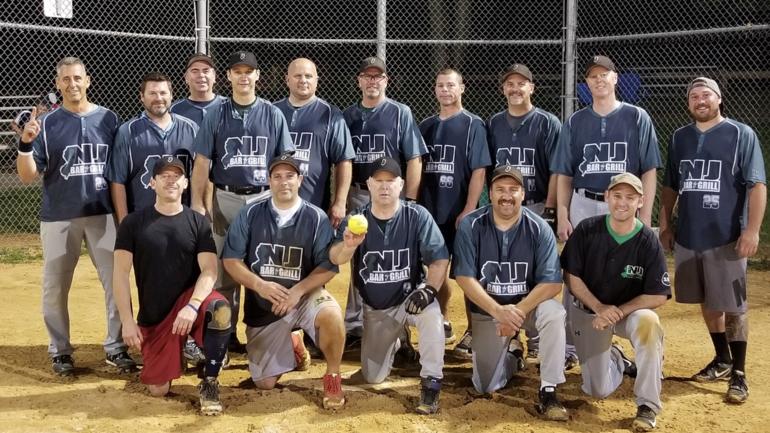 Randolph Mens Masters Softball Championship Won By The NJ Bar and Grill