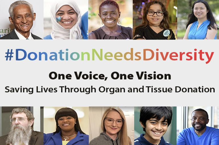 NJ Sharing Network Launches 2020 #DonationNeedsDiversity Awareness Campaign to Encourage Organ and Tissue Donation in Multicultural Communities