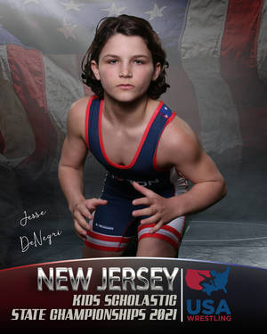 Randolph's Jesse DeNegri Reaches Third Straight NJ State Youth Wresting Finals; Claims Second Title