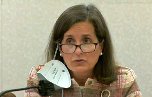 Carousel image b4562ed0d631e8cb2291 nj state treasurer elizabeth maher muoio addresses the senate budget and appropriations committee on april 6  2021   nj.gov