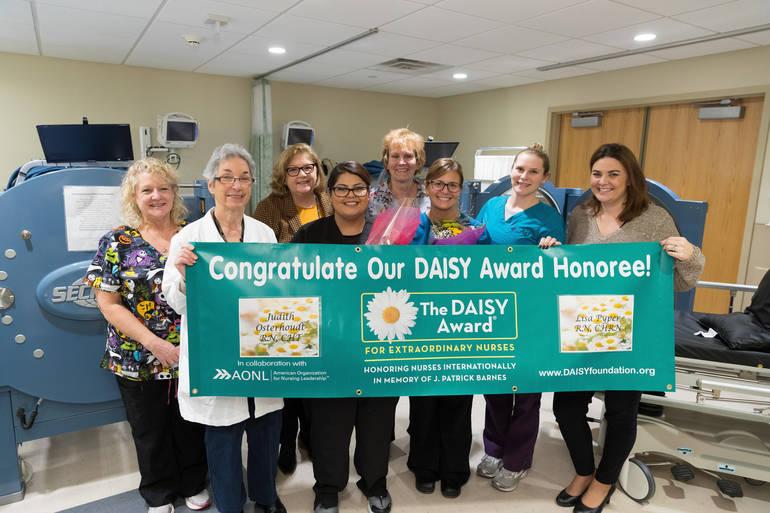 DAISY Award Presented to Newton Medical Center Nurses for Providing Extraordinary Caring