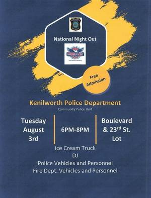 National Night Out, Kenilworth Police Department