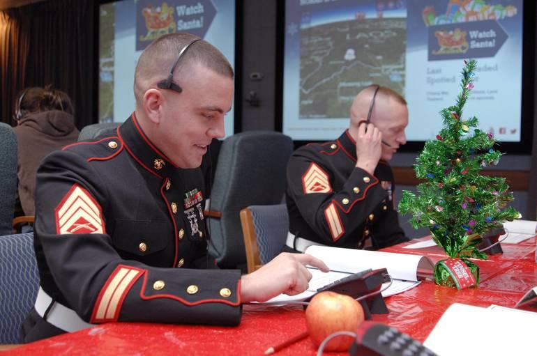 NORAD - Marines take calls.JPG