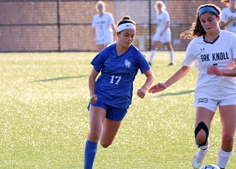 Scotch Plains-Fanwood's Jasmine Gutierrez (17)