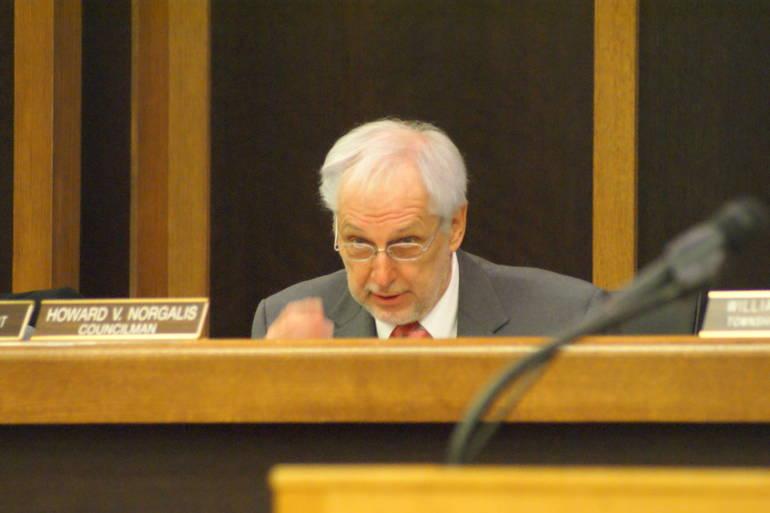 Council President Howard Norgalis