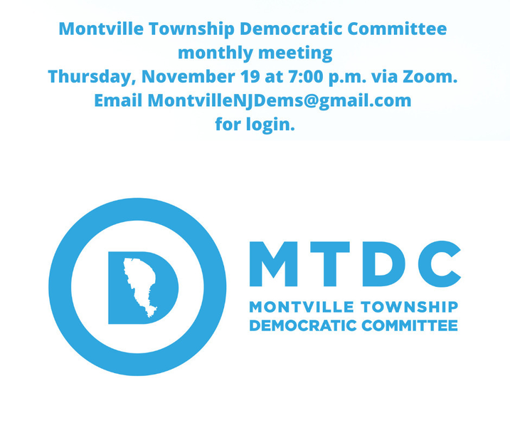 Montville Township Democratic Committee Meeting