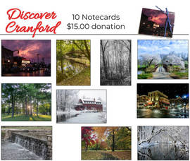 Discover Cranford Note Cards
