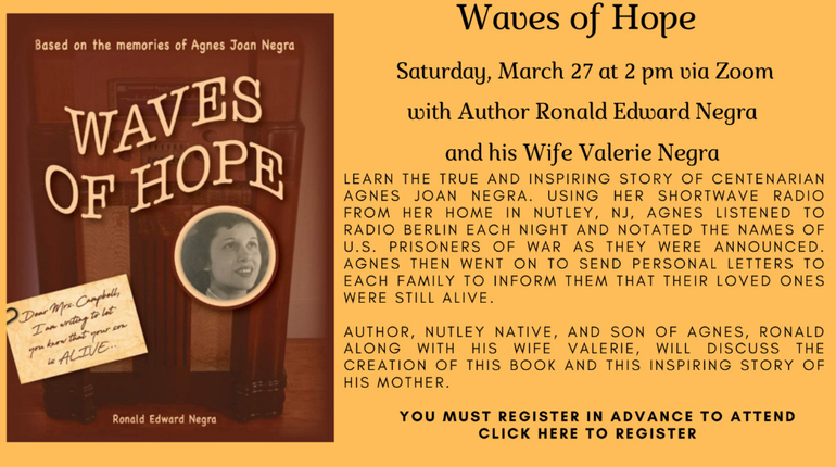 Waves of Hope at Nutley Public Library