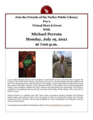 Nutley Public Library, Nutley Events, TAPinto Nutley, Nutley NJ ,  Michael Perrota