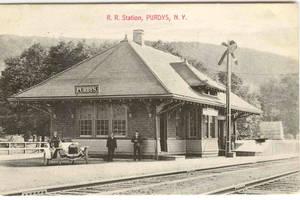 North Salem Historical Society Nugget - Purdys Railroad Station (Part I)