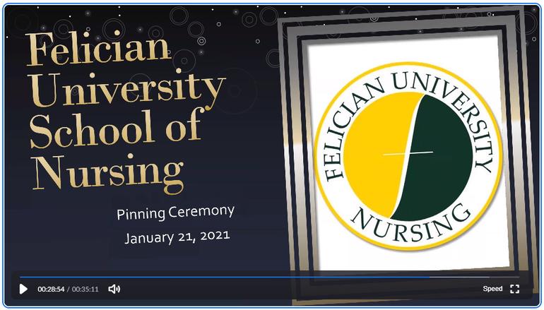 Felician University Holds Pinning Ceremony for New Nurses