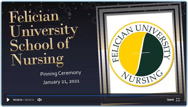 Felician University Holds Pinning Ceremony for New Nurses