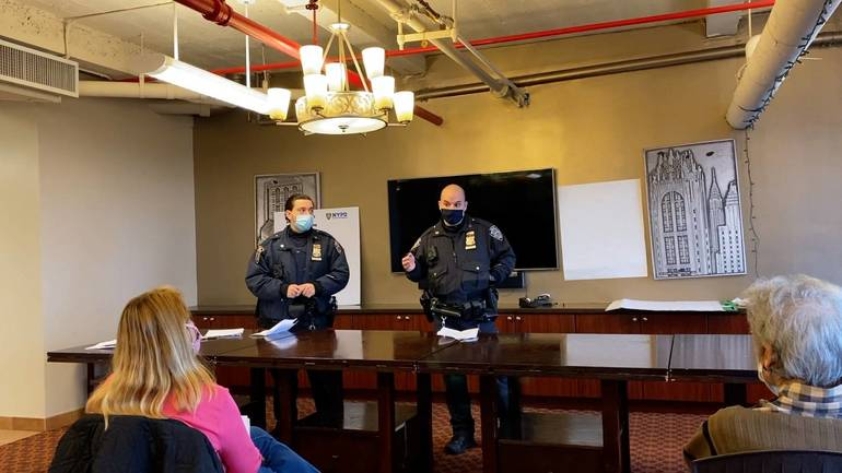 NYPD Hosts Build the Block Safety Meeting in Tudor City