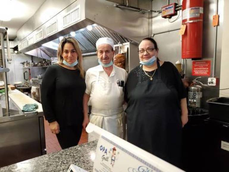 Opa Grill Celebrates Two Years in Kenilworth