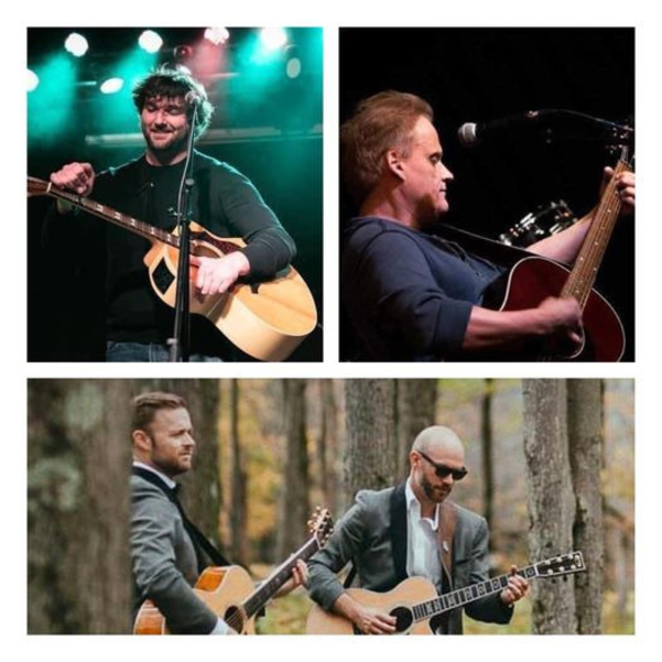 Rory D'Lasnow, Cam and Brooks,  Rick Winow Live This Week at The Oakley in Nutley